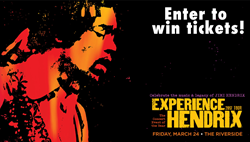 Win Tickets to see Experience Hendrix at the Riverside in Milwaukee from Cascio Interstate Music