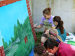 Maryland Muralist Selects Vycom's Celtec Material for Indoor and Outdoor School Mural Projects