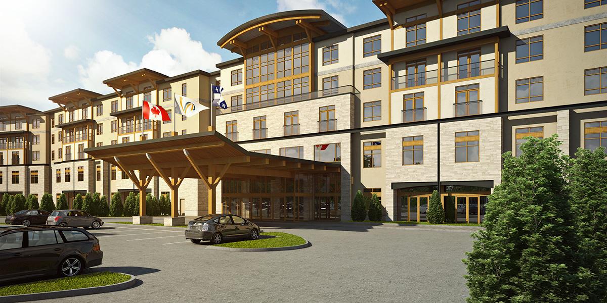 Valcartier Hotel Installs Dormakaba Saflok Rfid Electronic