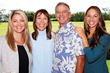 Left to Right: Kristie Rutherford, Hannah Sirois, Peter Sirois, and Cassady Sirois of Kauai Heritage Properties