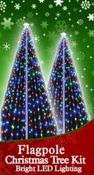The Flagpole Christmas Tree Kit