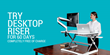 FlexiSpot is Now Offering 60-Day No-Obligation Trials on All Sit-Stand Desktop Risers
