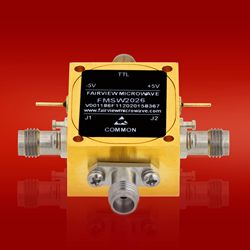 FMSW2026 SPDT PIN diode switch