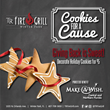 "TR Fire Grill Supports Children in Our Community this Holiday Season with ""Cookies for a Cause"" Dessert"