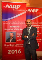 "AARP Names 10Pearls ""Supplier of the Year"""