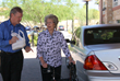 Envoy America Driver Companion Joe helps a senior client