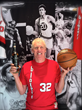 Bill Walton, part owner of Azuñia Tequila, celebrates sponsorship of the Portland Trail Blazers.