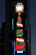 """Season's Greetings"" will Spread Throughout Times Square as the World's Tallest Digitally-Animated Christmas Tree is Lit on The Toshiba, TDK and Dunkin' Donuts Screens"