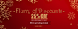 Flurry of Discounts - 25% Off Publicity Services! Until December 15 Only.