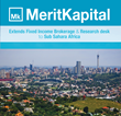 MeritKapital Extends Fixed Income & Research Desk to Sub Sahara Africa