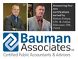 Bauman Associates Announces New Certifications for Team Members Nathan K. Kalepp, CPA and Joshua Schroeder, CPA