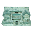 Ceremonial blue glass courtyard and houses from the Eastern Han dynasty. Estimate: $500,000.