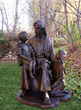 Distinguished Company, Big Statues, Rings in the Holiday Season with an Incredible Sculpture of Jesus and the Children