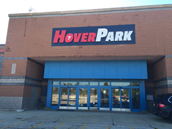 HoverPark Sign