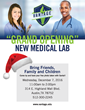 The Grand Opening of Vantage College's New Medical Lab is this Wednesday at the Austin campus!