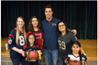 Brian Cushing Presents Stars in the Classroom Honor to Spring Branch ISD Teachers