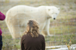 The Lady and the Polar Bear. Nanuk Polar Bear Lodge.