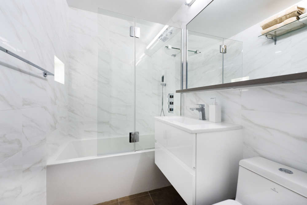 Myhome Completes Two High End Bathroom Renovations In New York City Home