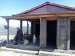 Shambhu Gurung, enjoying his newly built, earthquake resistant house in Rainaskot, Nepal.