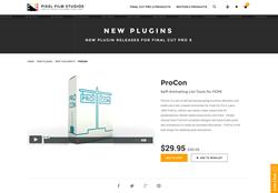 FCPX Plugin - ProCon - Pixel Film Studios