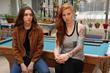 "Lexi Yob (""Chloe"") & Courtney Phillips (""Lisa"")Scene from ""Blooob"""
