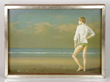 "Robert Bliss (American, 1925-1981), ""Boy at the Beach,"" signed and dated 1971"