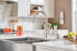 New Moen® Faucets at Lowe's Offer On-Trend Designs While Minimizing Stress and Mess
