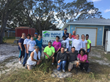 MC Assembly participated in a Habitat for Humanity of Brevard County home building project to help give a single mother and her four young boys a home.
