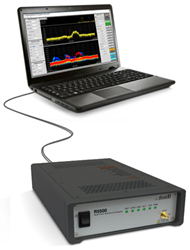 The R5500 Real-Time Spectrum Analyzer seamlessly integrates with the S240 Real-Time Spectrum Analysis software to provide a complete solution to users.