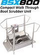 Food Processors Requiring a Higher Employee Throughput Find an Effective Footwear Cleaning Solution with New Compact Walk-Through Boot Scrubber Unit