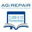 AGiRepair Exceeds 1,500 School District Partnerships in Support of Mobile Device Repair for 1:1 Initiatives