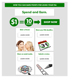 FSA Store - Loyalty program