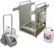 Footwear Sanitizing Units