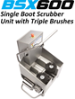 Best Sanitizers is Helping Food Processors Reduce Cross-Contamination from Footwear with the new BSX600 Compact Walk-Through Boot Scrubber Unit and Video