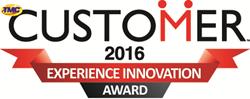 2016 Customer Experience Innovation Award