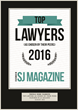 SJ Magazine Recognizes Attorney Thomas More Marrone as One of Top Lawyers 2016 in South Jersey