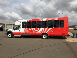 The San Diego Metropolitan Transit System rolled out its new fleet of 77 buses fueled by emissions-reducing, economical propane autogas.