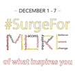 Surge Institute's Second #SurgeForMore Online Giving Campaign Is Well-Received By New Donors
