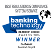 Globanet Merge1 Recognized with Banking Technology Award Win for Best Regulations and Compliance System / Service