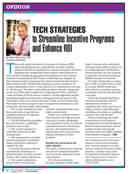 Counterman article: Tech Strategies to Streamline Incentive Programs and Enhance ROI