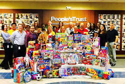 Toys for Tots - People's Trust Insurance