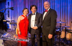 CareOne CEO Daniel E. Straus received the Spirit of Healing Award at Holy Name Medical Center Founders Ball.