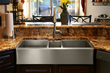 custom copper stainless steel sink farmhouse undermount