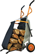 WORX Aerocart with Firewood Carrier Attachment