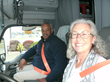 Federal Motor Carrier Administrator Gets a Glimpse of Life on the Road with Female Driver