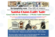 Santa Claus Rally Sale