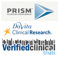 Davita & Prism Clinical Research Select Verified Clinical Trials