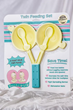 Baby A & Baby B Introduces the Twin Feeding Set