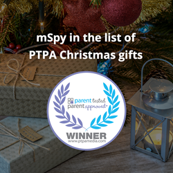 mSpy in the list of PTPA media gifts