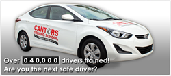 Driver Training Car - Cantor's Driving School AZ